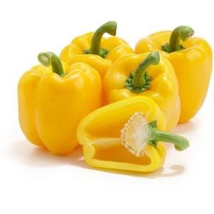 Yellow Capsicum - Cili Epal Kuning (3 pieces per packet)
