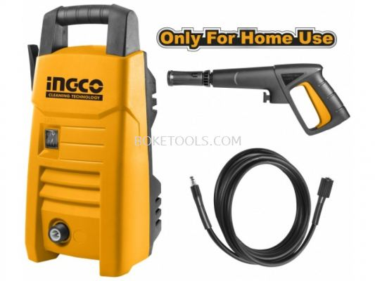 (AVAILABLE IN PIONEER BRANCH) INGCO HPWR12001 High Pressure Washer 1200W - 90 Bar
