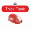 Allana Bufallo Meat Knuckle/Thick Flank (42) Buffalo Meat Meat & Poultry
