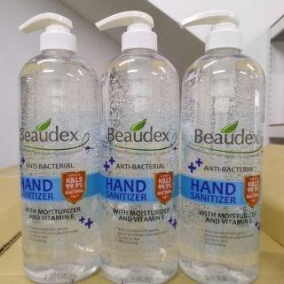 Beaudex hand sanitizer Gel 1000ml (1 liter)
