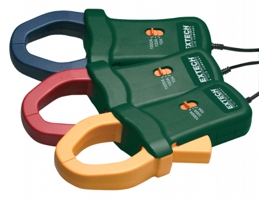 Extech PQ3120 1000A Current Clamp Probes