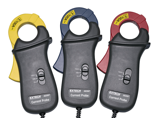 Extech 382097 100A Current Clamp Probes