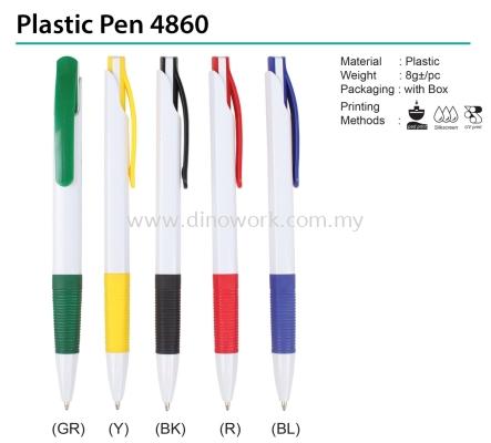 Plastic Pen 4860