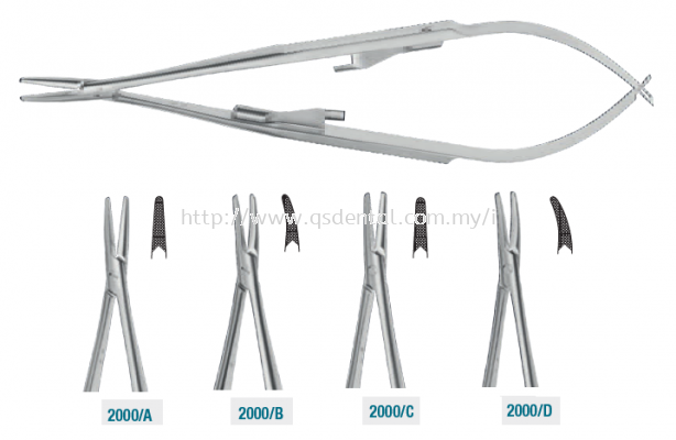 2000 series Castroviejo Needle Holders