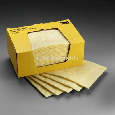 3M CPD914DD Chemical Sorbent Pads