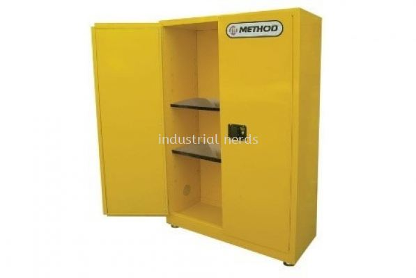 Method MC109-45 Yellow 45 gallon (170 Liters) Flammable storage cabinet