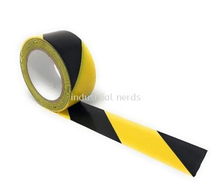 "Brady 104317 B514 Yellow & Black ToughStripe Floor Marking Tape 2"" X 100'"