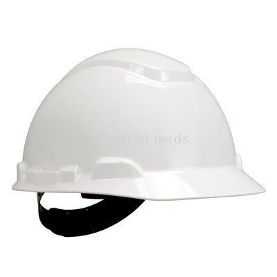 3M H-701P White Hard Hat - 4 Point Pinlock