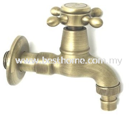 WALL MC BIB TAP - ANTIQUE RAL21047