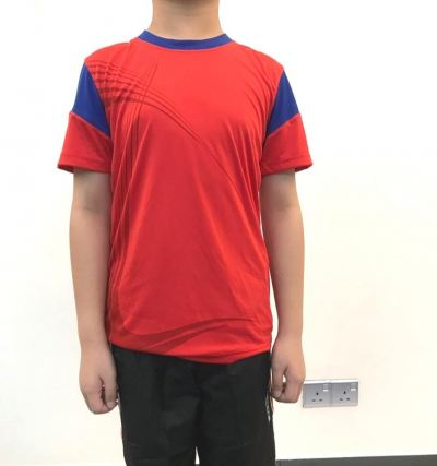 ATTOP JUNIOR JERSEY AJJ2460 RED/ROYAL