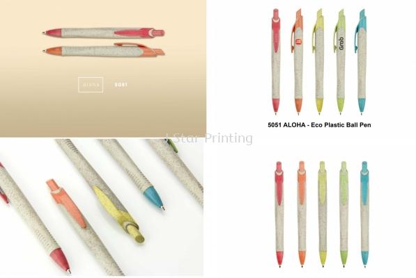 Plastic Pen aloha 5051