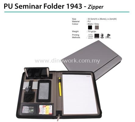 PU Seminar Folder 1943 - Zipper