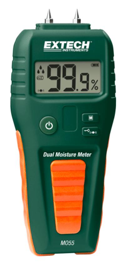 Extech MO55 Combination Pin/Pinless Moisture Meter