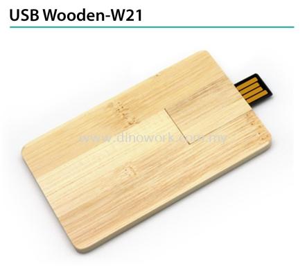 USB Wooden-W21