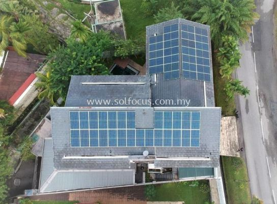 18.6kWp, Tile Roof Retrofit (Klang Valley)