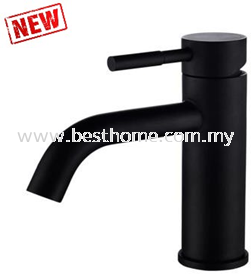BASIN MIXER - BLACK RAL6273