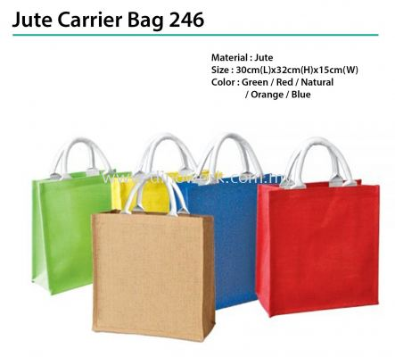 Jute Carrier Bag 246