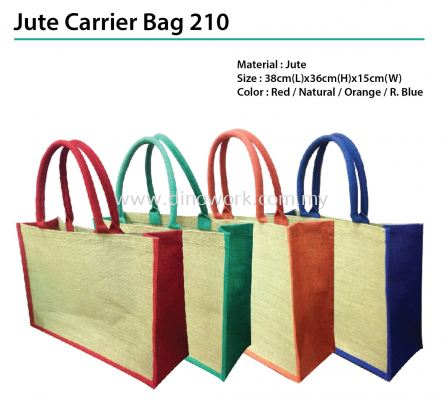 Jute Carrier Bag 210