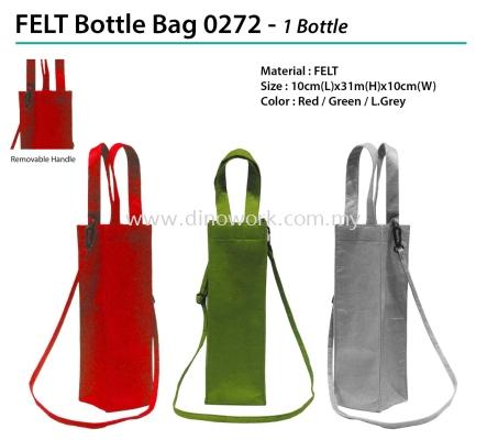 FELT Bottle Bag 0272 - 1 Bottle