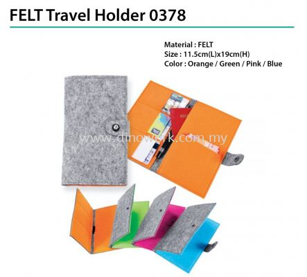 FELT Travel Holder 0378