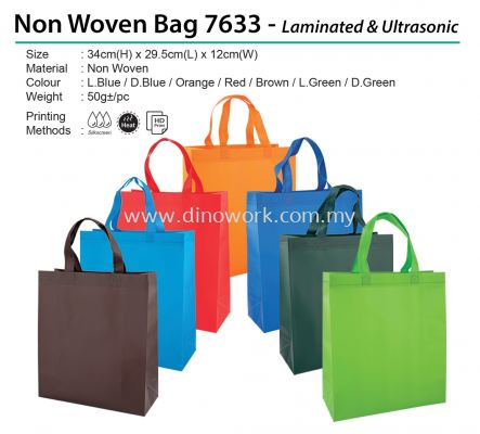Non Woven Bag 7633 - Laminated & Ultrasonic