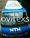 van advertising Jb /roof top advertising to tranfom your products message to the market Van Vehicle Advertising