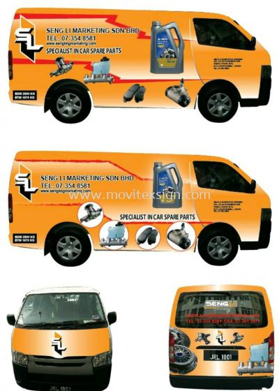 van advertising /mobile van Adv n display (click for more detail)