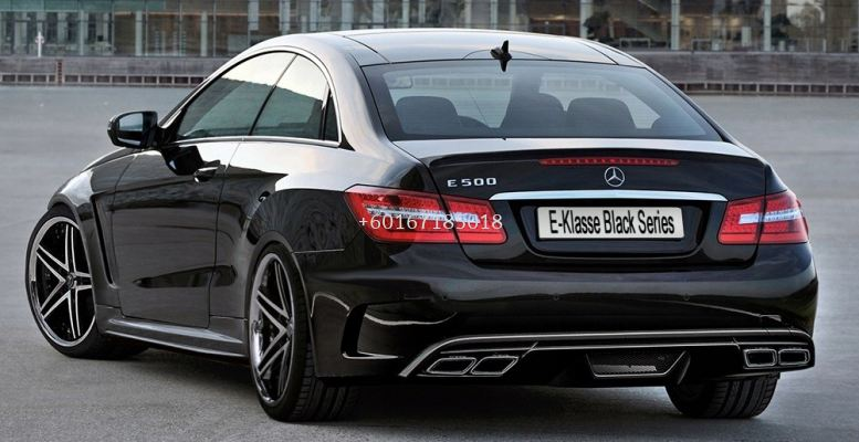 mercedes benz w207 coupe rear bumper bodykit prior style for w207 replace upgrade performance look frp fiber material new set