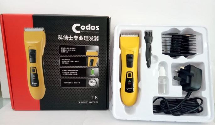 CODOS Cordless Rechargeable T8 Hair Clipper