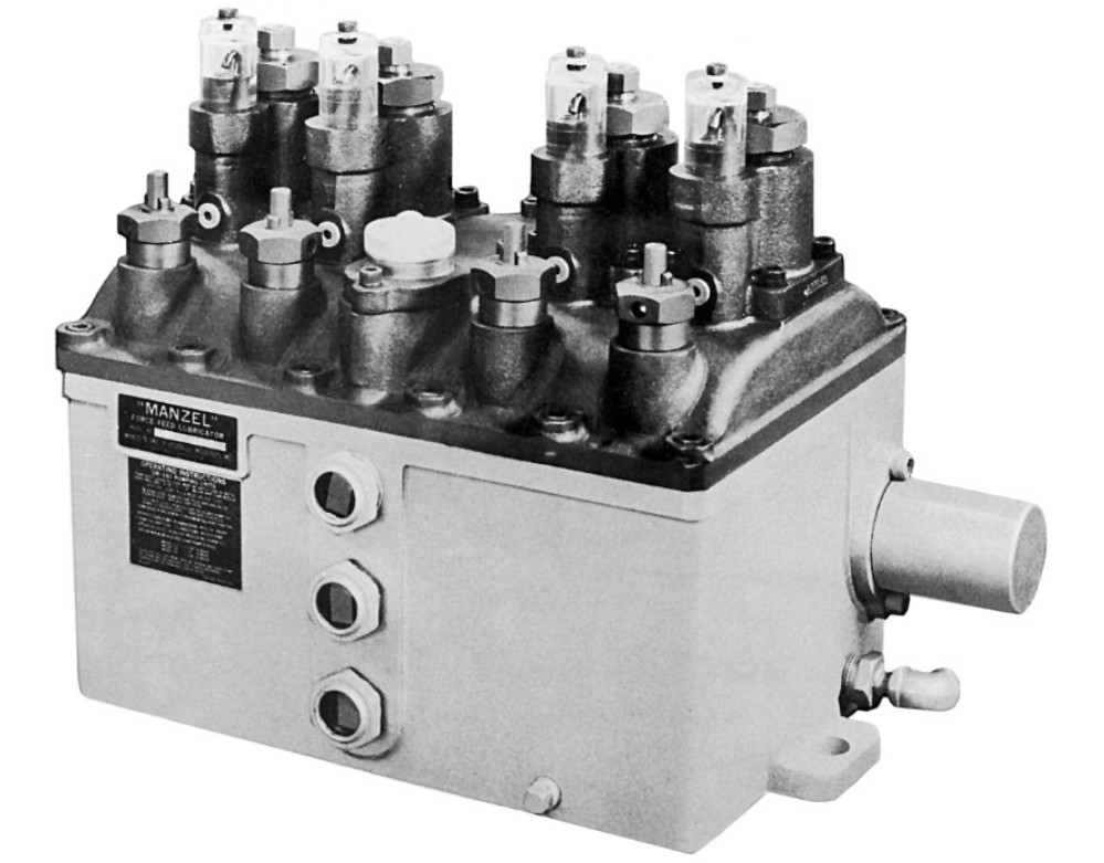 Manzel Model HP-50 High Pressure Lubricators