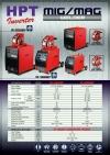 IM-4000EF/IM-5000EF HPT Inverter Mig/mag Welding and Cutting Equipment