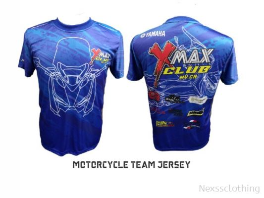 motorcycle team tshirt