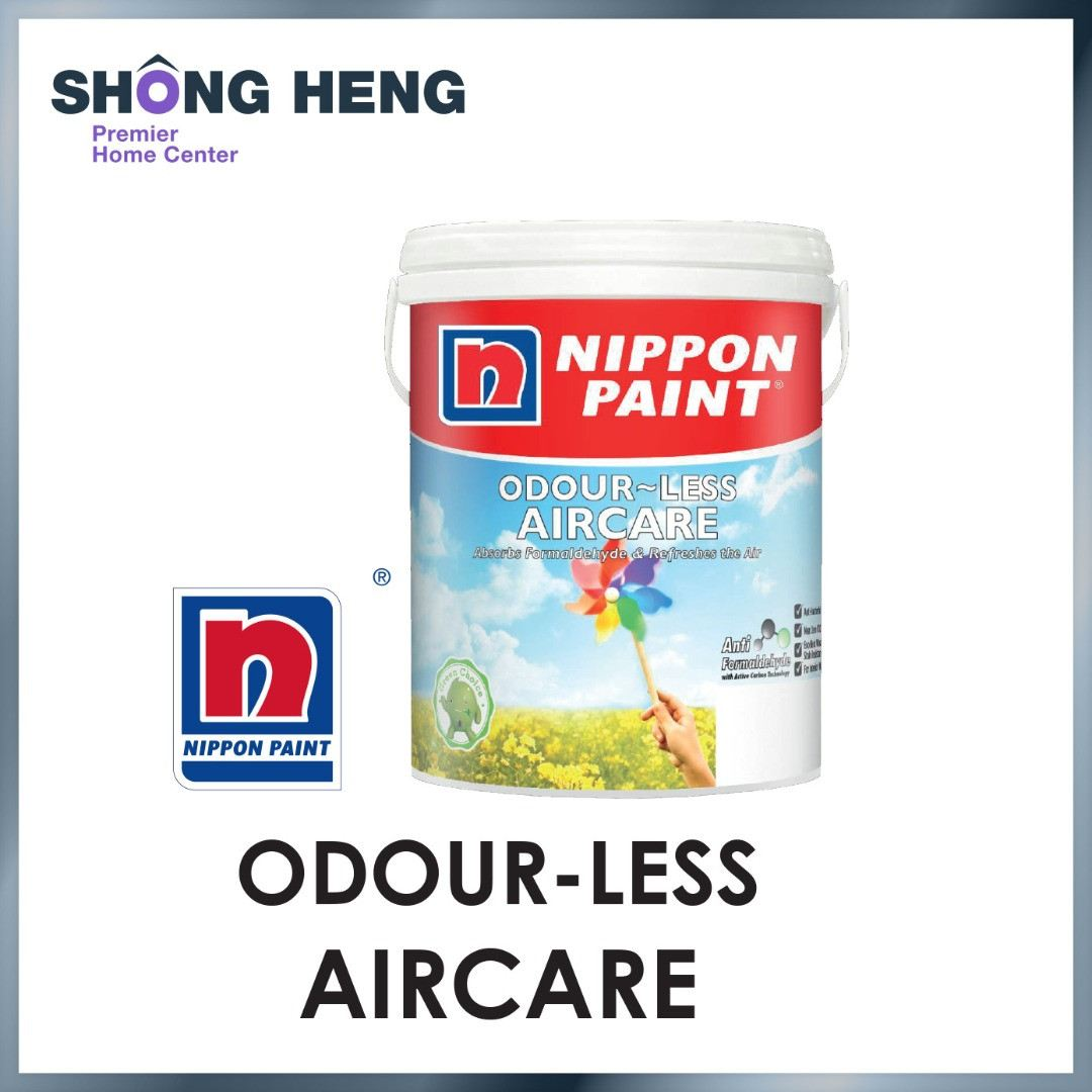 NIPPON PAINT ODOUR-LESS AIRCARE