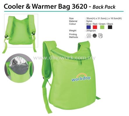 Cooler & Warrmer Bag 3620 - Back Pack