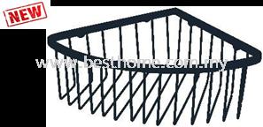 CORNER SHAMPOO RACK - BLACK RAL-K5196