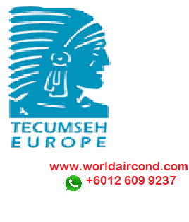 TECUMSEH SCROLL SEMI HERMETIC SCREW COMPRESSOR MODEL