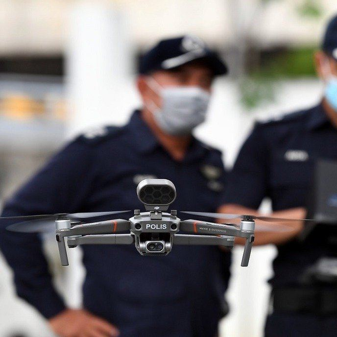 Police: No Flying Drones During MCO Without CAAM Approval Others