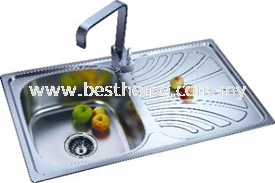 KITCHEN SINK RAL8008