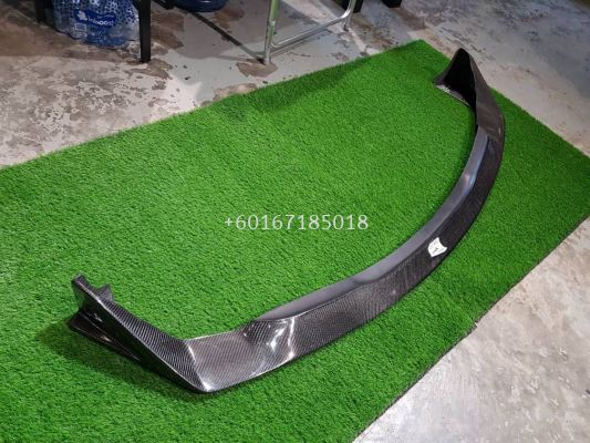 suzuki swift zc31s sport sunline racing style front lip for swift sport bumper add on upgrade slr style performance look real carbon fiber material new set