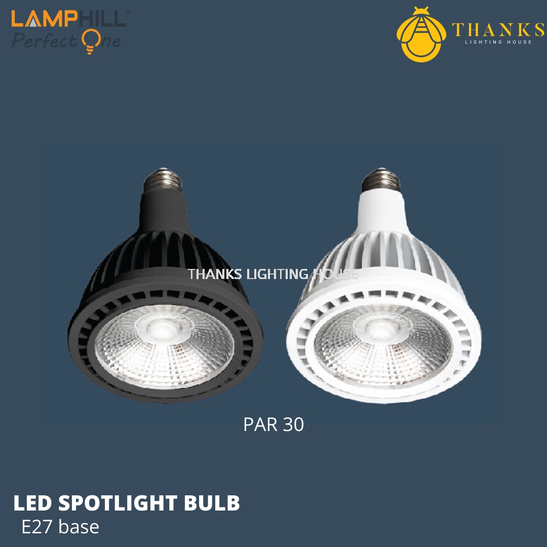 PAR30 E27 LED Spotlight Bulb