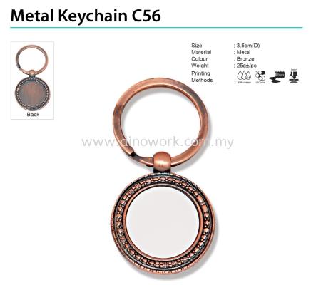 Metal Keychain C56