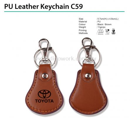 PU Leather Keychain C59