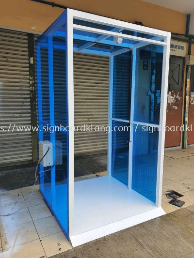 Shop And Factory Disinfection Tunnel , Virus Bust , disinfection Box display make in klang.#Disinfectionbox #Virusbust #Disinfectionbox