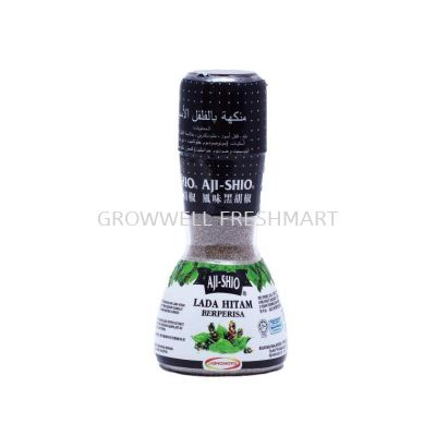 Aji Shio Black Pepper Flavour Enhancer 80g