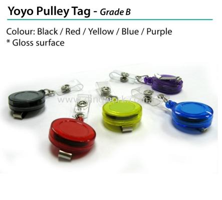 Yoyo Pulley Tag - Grade B
