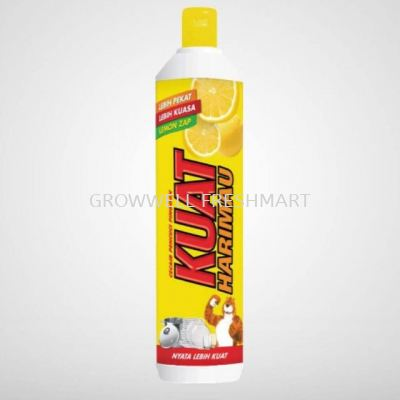 Kuat Harimau Dishwash Liquid Lemon