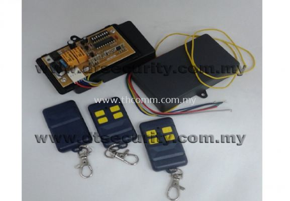 4 Channel Remote Control 433Mhz
