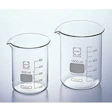 Duran Beakers, Low Form with Graduation and Spout, with Retrace Code