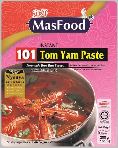 101 INSTANT TOM YAM PASTE