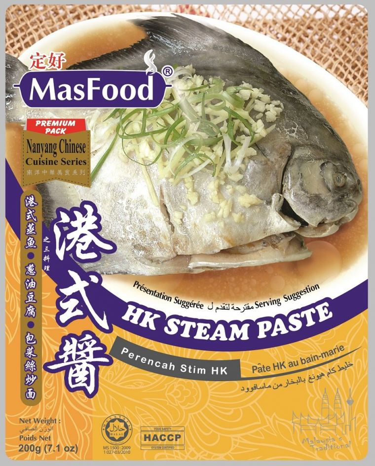 HK STEAM PASTE Chinese Styles Paste